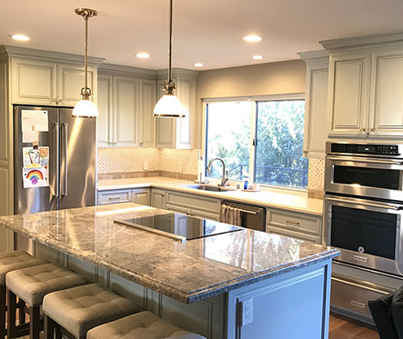 marbled kitchen remodelling(small)